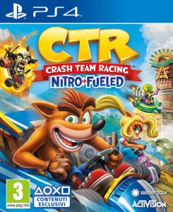 ctr crash team PS game
